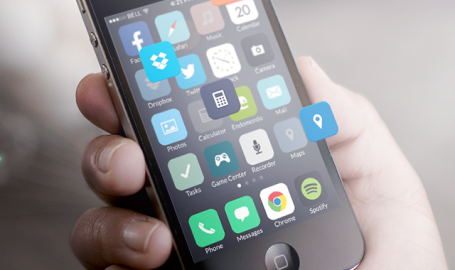 iOS 7 icons redesigned - 用户界面设计