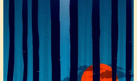 47 Ronin Blue by Doaly - 海报设计