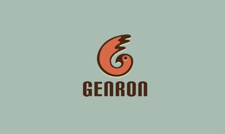 GENRON - 标志设计