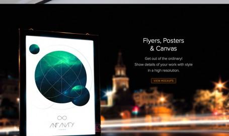 Infinity - 网页设计