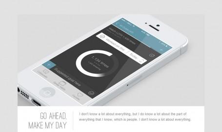 Keylight - Light & Flat Portfolio - 网页主题模板设计