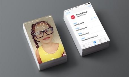 iphone business card vol.2 - 产品设计