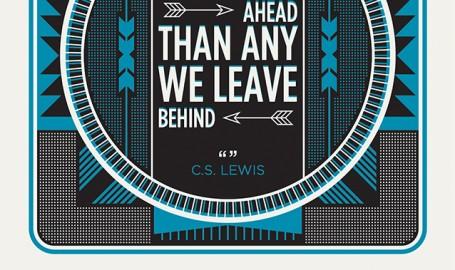 C.S. Lewis Coaster - 活版印刷