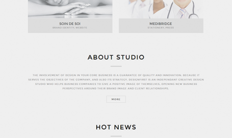 DESIGNFIRST. An independent creative design studio and web agency from Belgium. - 网页设计
