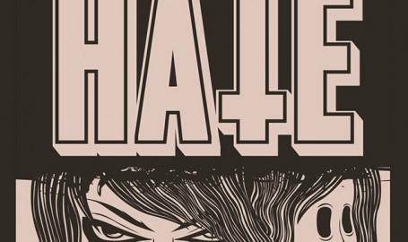 HATE - skateboard - 矢量图形