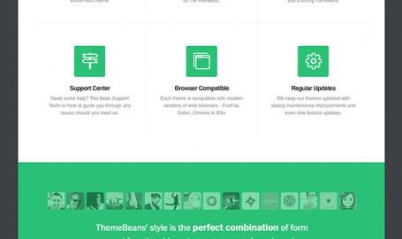 ThemeBean V2 - 网页设计