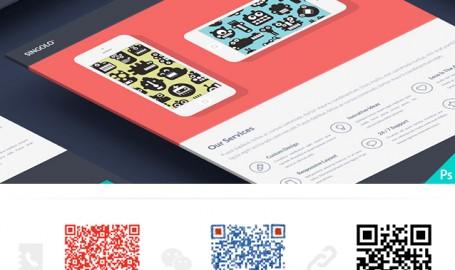 Singolo: Single Page Website - OnePage 单页网站模板 PSD