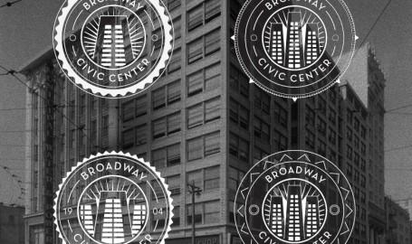 Broadway Civic Center - 标志设计