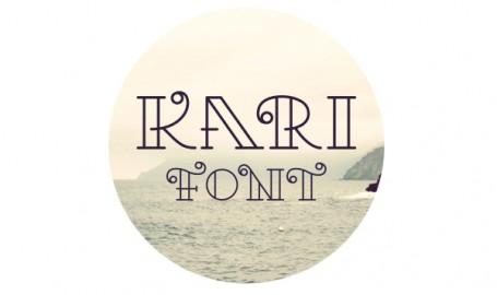 Kari Font - 字体设计