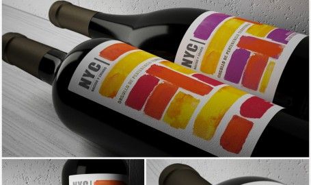 NyC 酒标设计 - 包装设计