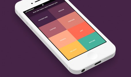 TriplAgent - 手机应用程序用户界面设计