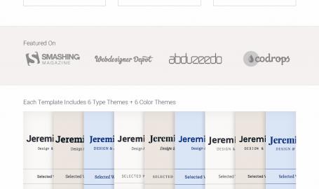 Type & Grids - 网页设计