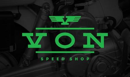Von Speed Shop - 标志设计