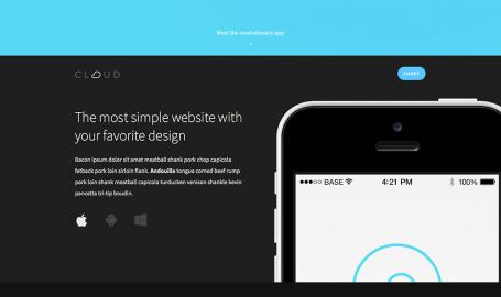 Cloud - 简单易用的 App Landing Page