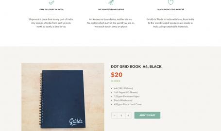 Griddr - Dot Grid Book - 网页设计