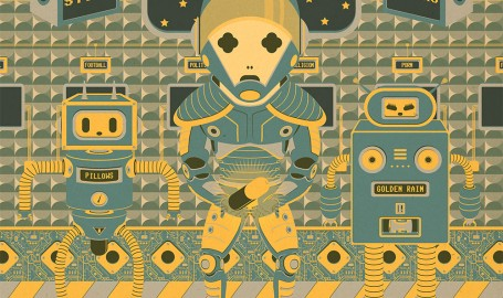 Astrologynaut - 矢量图形设计