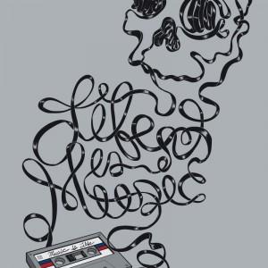 Music is Life - 手绘插图