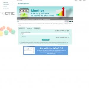 TAW Web Accessibility Test - WCAG 1.0 / 2.0 兼容性检测工具