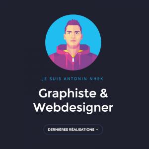 Antonin Nhek Graphiste & Webdesigner - 网页设计