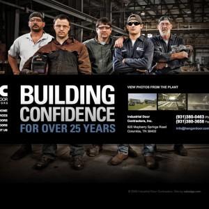 Industrial Door Contractors - 网页设计