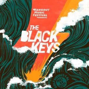 The Black Keys Hangout Music Festival - 海报设计