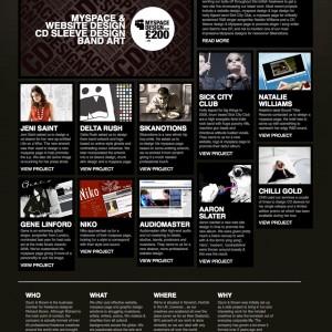 Zaum & Brown - 网页设计