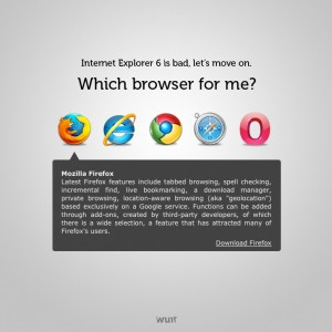 Which Browser For Me - 网页设计