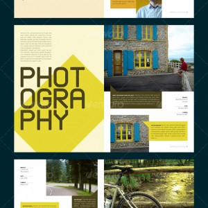 Portfolio Booklet - 宣传册版式设计