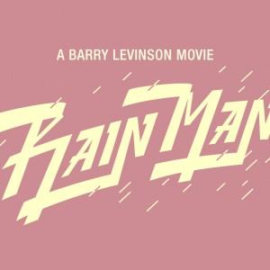 Rain Man Lettering - 活版印刷