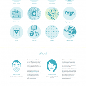 Rype Arts - 扁平化风格网页设计