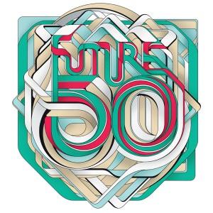 FUTURE 50 ICON MAGAZINE - 艺术字体设计