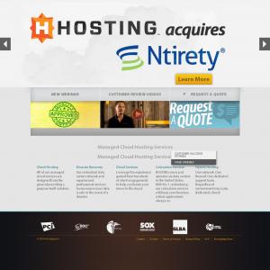 Hosting - 主机服务商官方网站设计