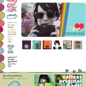 Red Velvet Art - 涂鸦风格网页设计