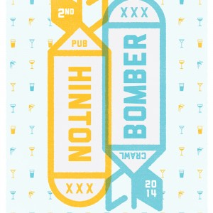 The Hintonbomber - 海报设计