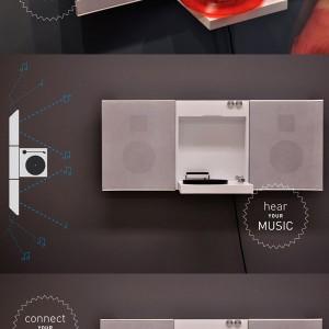 KANVAS Home Stereo - 产品设计