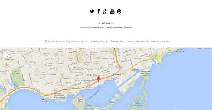 Flatshop – 时尚响应式WordPress电商主题模板 - 任刚 · Ren Gang 世界设计 · 设计世界
