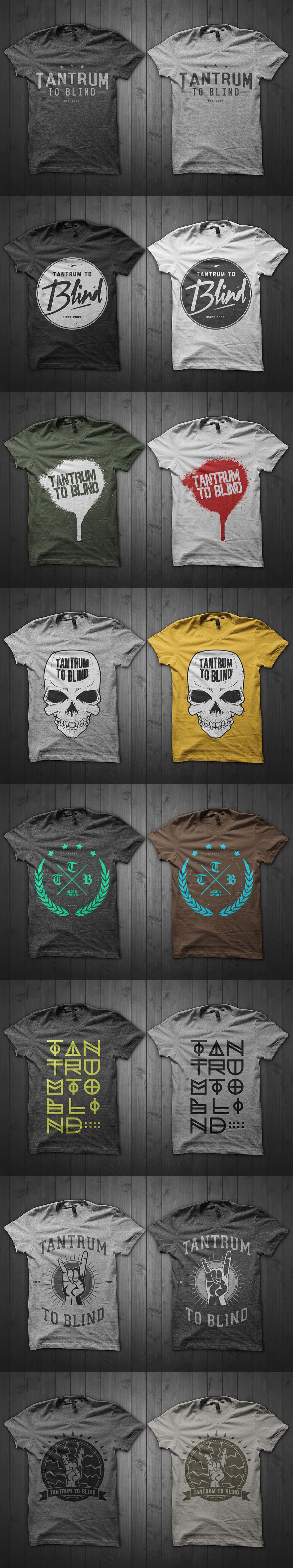 TTB Merch – T恤图案设计