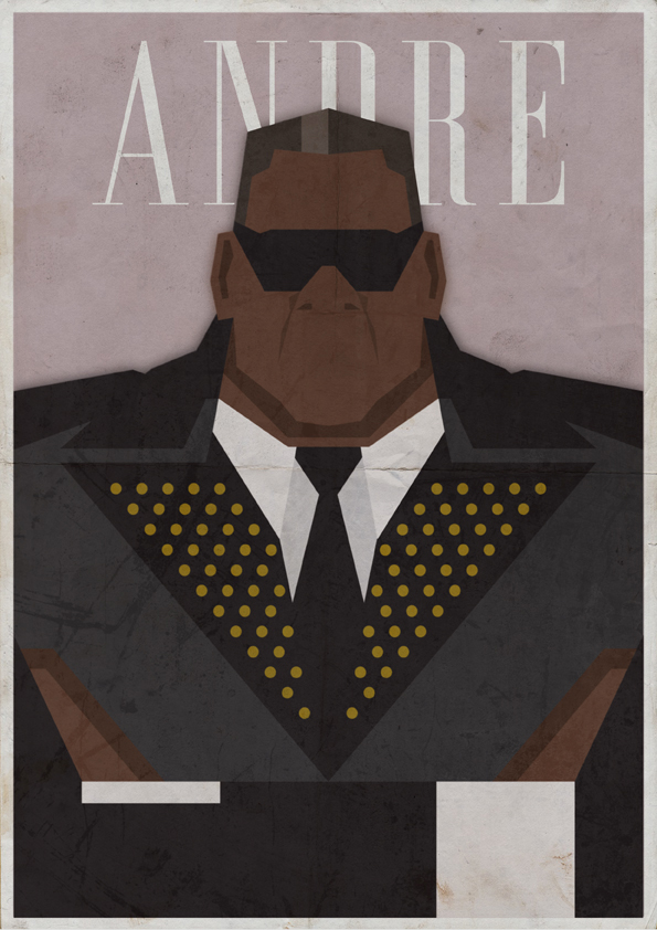 André – 国外海报设计案例欣赏 - 任刚 · Ren Gang 世界设计 · 设计世界