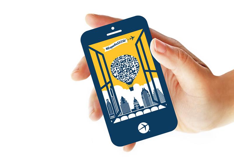 国外设计公司 YL Art Branding 的营销活动策划设计案例 – Marketing Campaign: Expedia at SXSW