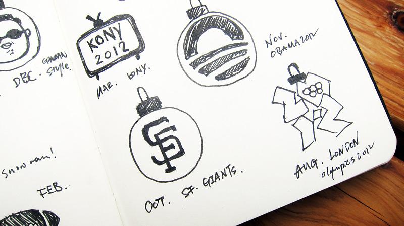 信息图表设计:The Year 2〇12 in Infographic for Visual.ly - 任刚 · Ren Gang 世界设计 · 设计世界