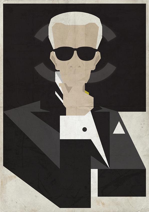 国外设计师海报设计案例 – Karl - 任刚 · Ren Gang 世界设计 · 设计世界