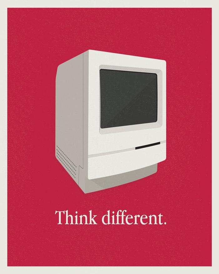 国外设计师海报设计案例 – Macintosh Classic Print