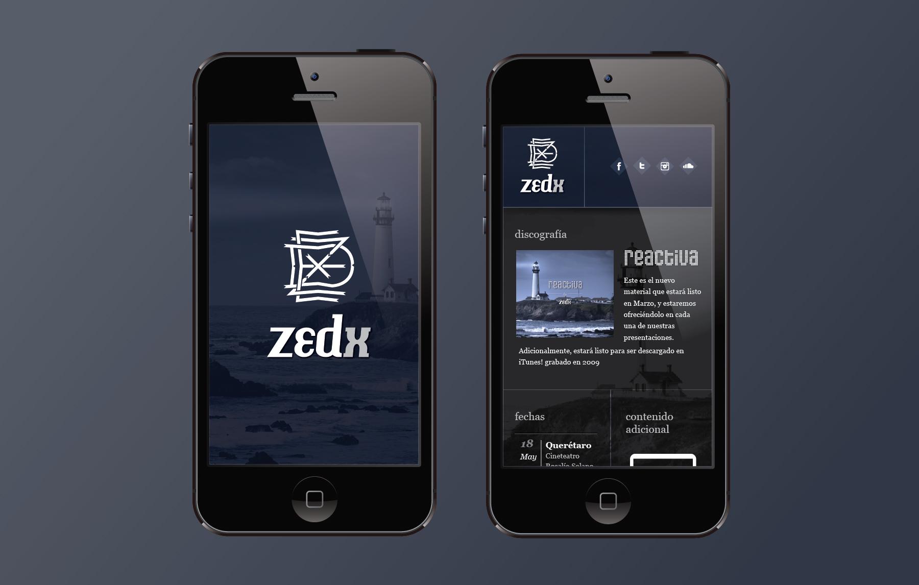 国外品牌视觉设计案例欣赏 – Zedx(标志、光盘套、宣传页、网站及移动Web用户界面设计)