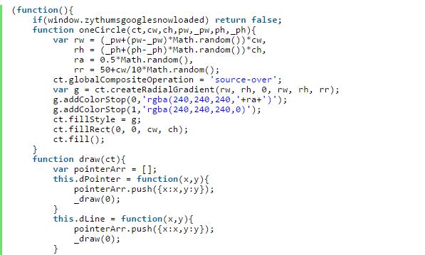 Snow JavaScript – 带按钮的网页下雪JavaScript代码