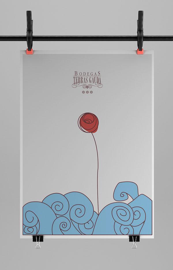 Bodegas Terras Gauda – 国外设计师的海报设计案例 - 任刚 · Ren Gang 世界设计 · 设计世界