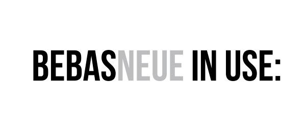 Bebas Neue – 时尚字体免费下载(TTF、OTF) - 任刚 · Ren Gang 世界设计 · 设计世界