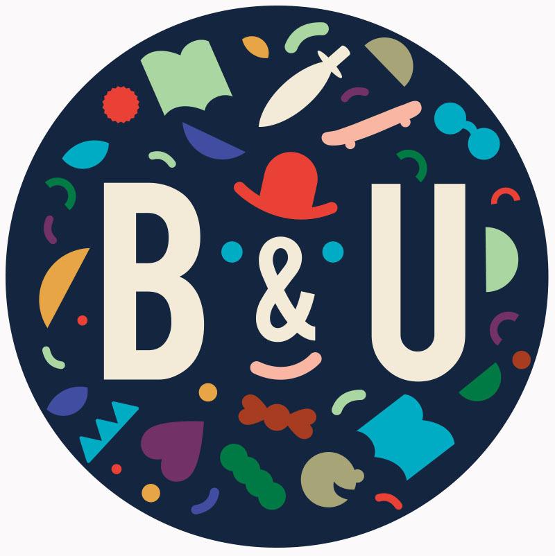 哥本哈根中央图书馆儿童部 B&U 视觉形象设计 by Hvass&Hannibal – 国外设计欣赏
