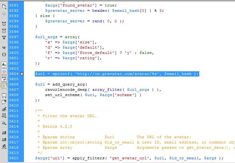 WordPress 4.2 以上版本 Gravatar 头像不显示的解决办法