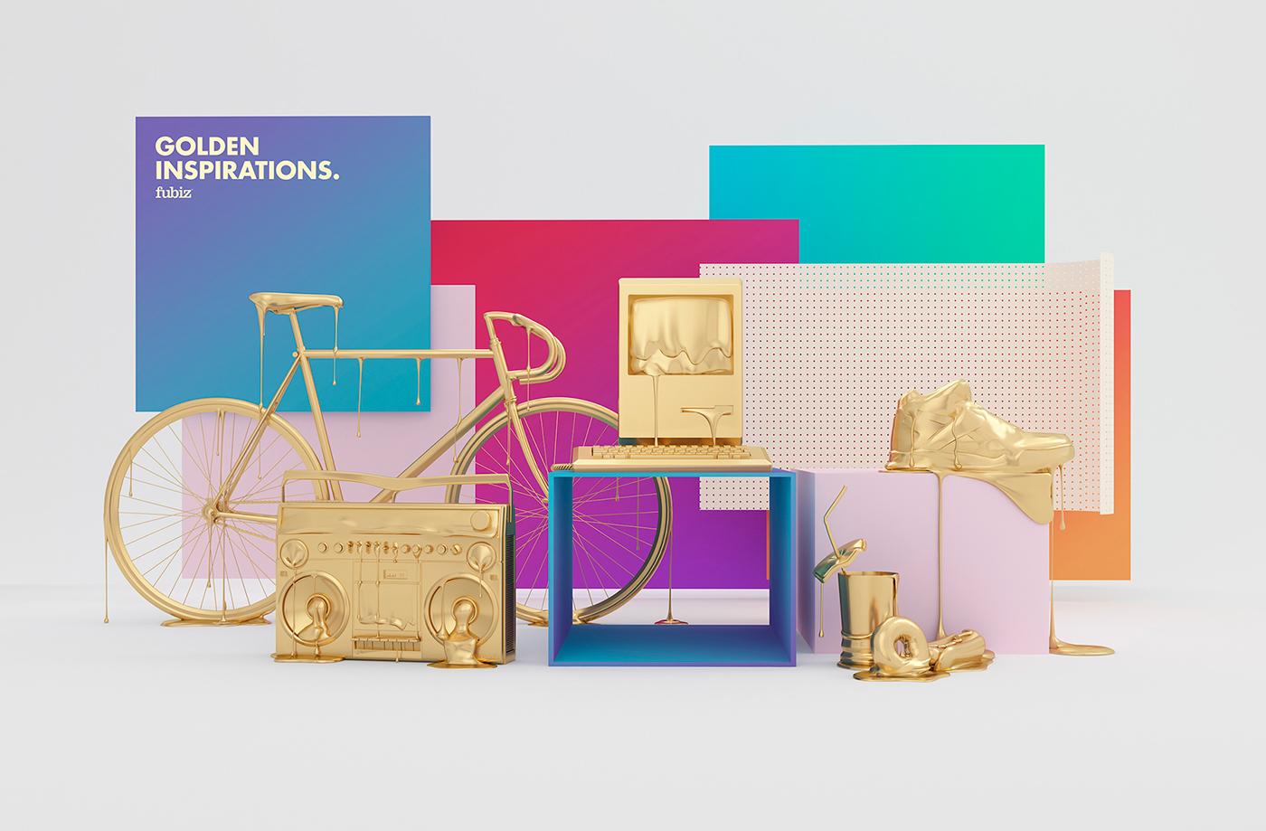 GOLDEN INSPIRATIONS 广告设计 – 国外广告设计案例精选
