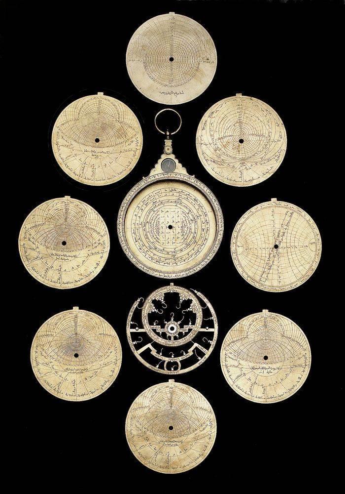 伊斯兰风格 Astrolabe 星盘 - 任刚 · Ren Gang 世界设计 · 设计世界